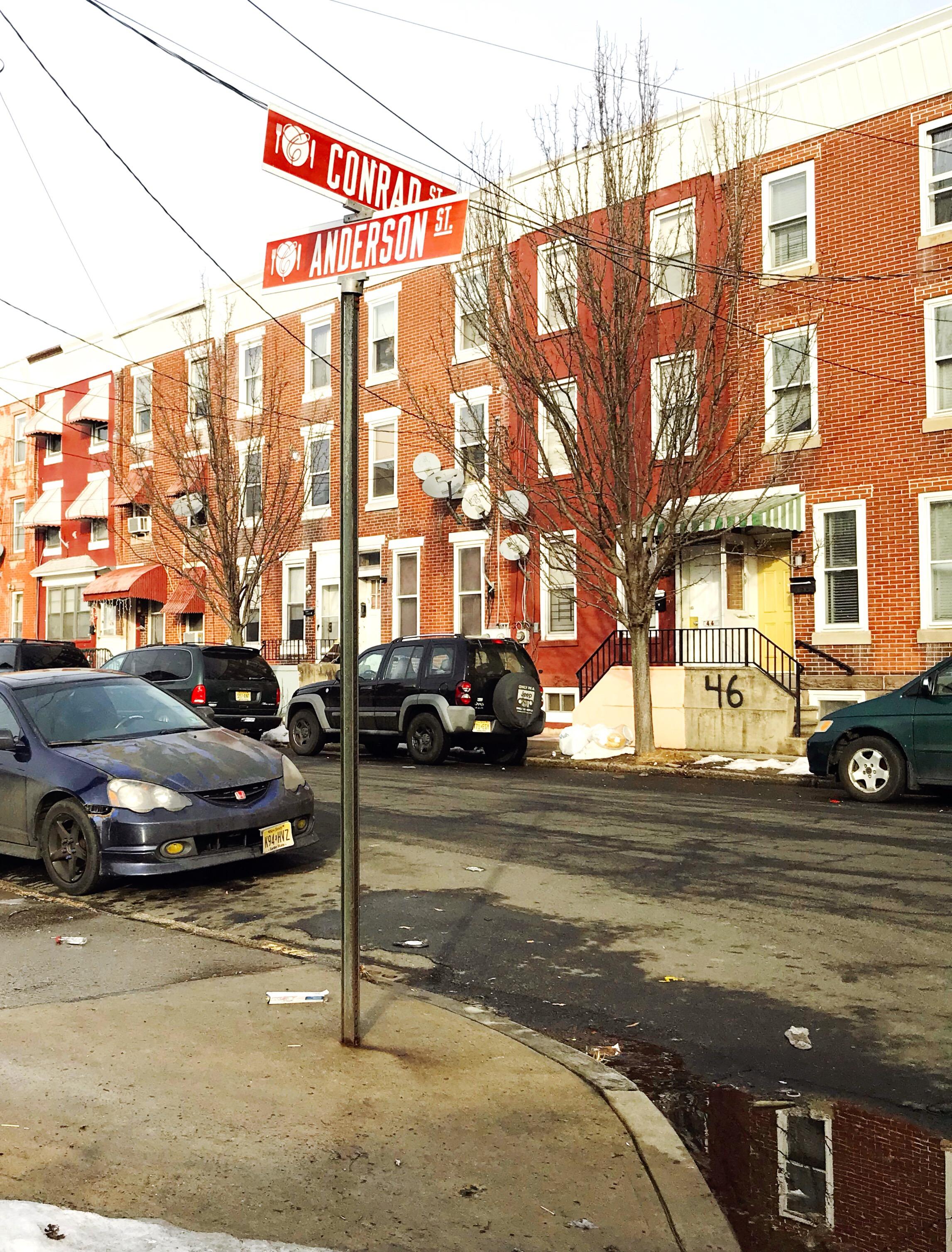 Trenton Anderson Street